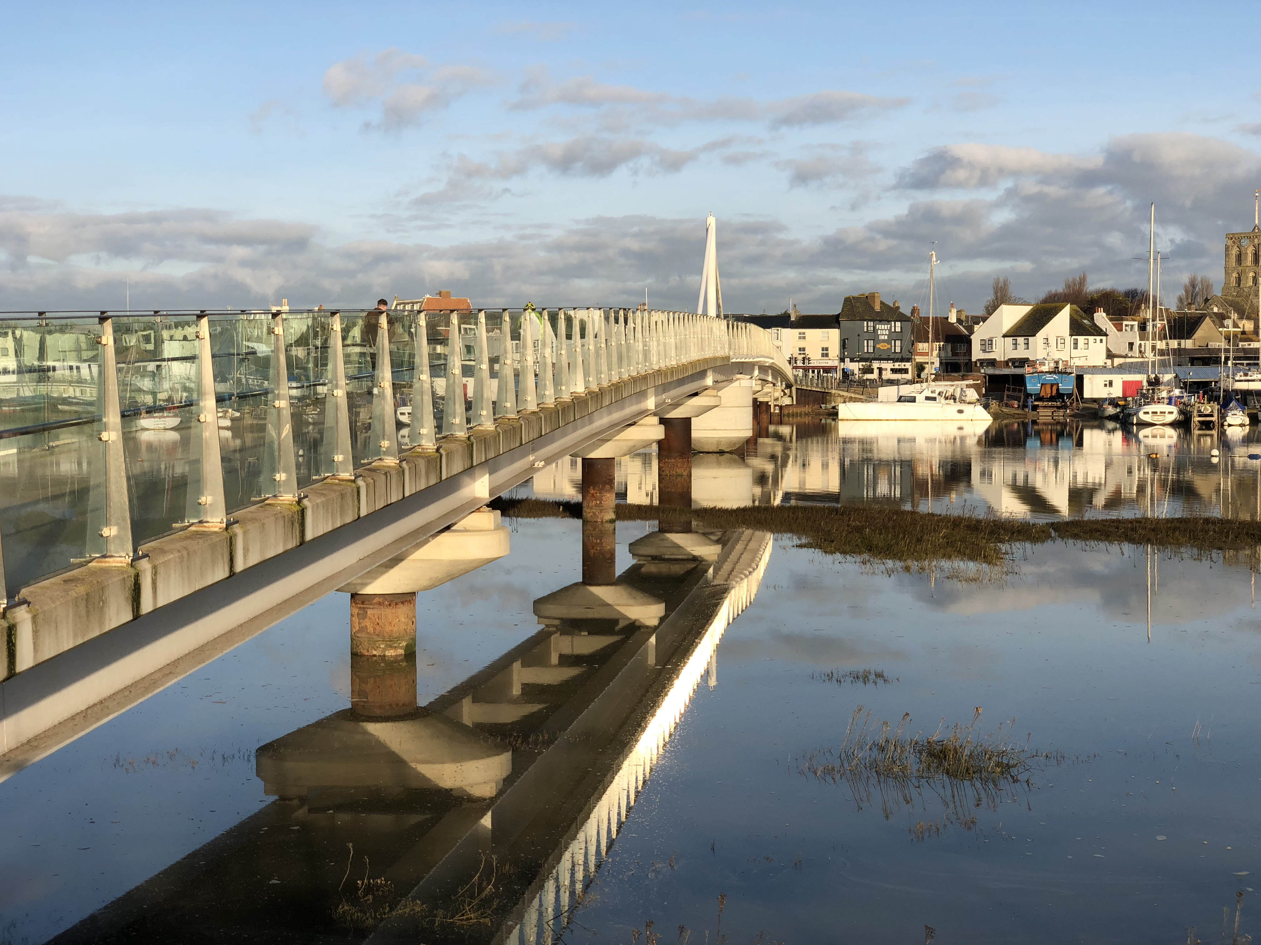 The Adur Ferry Bridge